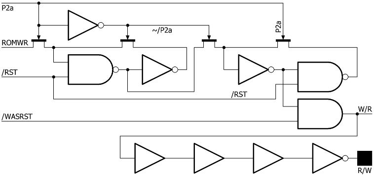 65CE02 Partial Schematic